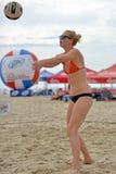 2013 kvinnors pro-strandvolleyboll Arkivfoto