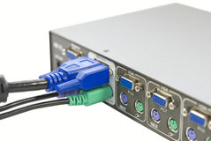 KVM Switch Stock Photo