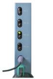KVM Switch. 4 Ways KVM Switch (Keyboard/Video/Mouse stock photography