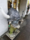 Kvosin sklepu spożywczego Viking błyszczki maskotka, Reykjavik, Iceland Obrazy Royalty Free