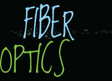 Kw Fiber Optics Text Background  Word Cloud Concept. KW FIBER OPTICS Text Background Word Cloud Concept Royalty Free Stock Images