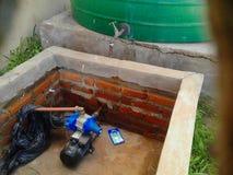 2kW oppervlakte waterpump Stock Fotografie