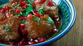 Kwaśna wiśnia Kabab Fotografia Stock