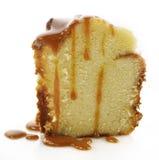 Kwaśnej śmietanki torta plasterek Fotografia Stock