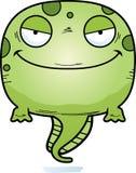 Kwaad Beeldverhaalkikkervisje stock illustratie