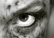Kwaad oog Stock Fotografie