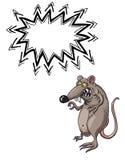 Kwaad rat-100 vector illustratie