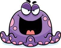 Kwaad Weinig Octopus royalty-vrije illustratie