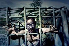 Kwaad Zombiemonster stock illustratie