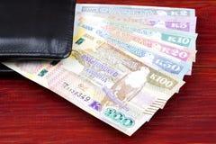 Kwacha zambien dans le portefeuille noir