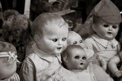Kwade baby - pop Stock Afbeeldingen
