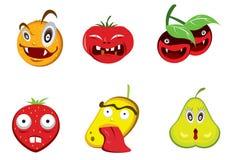 Kwade Vruchten Stock Fotografie