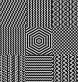 Kwadratów wzory Obraz Royalty Free