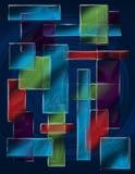 kwadrat abstrakcjonistyczna tekstura Zdjęcia Royalty Free