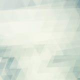 Kwadrat blaknący wzór z trójbokami Zdjęcia Stock