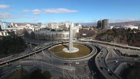 Kwadrat bohaterzy, Tbilisi - Powietrzny czasu upływ zbiory