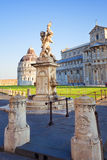 Kwadrat cudu piazza dei Miracoli w Pisa Obrazy Stock