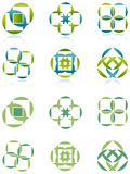 Kwadrat i okrąg Zdjęcie Royalty Free