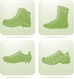 kwadrat ikon olivine ustalony butów sporta kwadrat