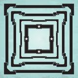 Kwadrat ramy ilustracji