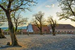 Kwadrat Szentendre miasto, Węgry obraz stock