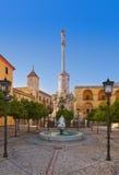 Kwadrat Triumf San Rafael w Cordobie Hiszpania Zdjęcie Royalty Free