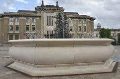Kwadrat w Bergamo Obraz Royalty Free