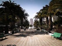 Kwadrat w mieście Arrecife zdjęcie royalty free