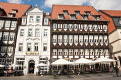 Kwadrat w starym centrum miasta Fotografia Stock
