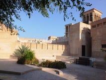 Kwadrat w Starym Dubaj obraz royalty free