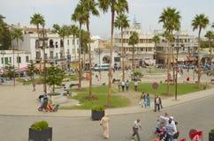 Kwadrat w Tangier Zdjęcia Royalty Free