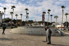 Kwadrat w Tangier mieście, Maroko Zdjęcie Stock