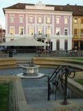 Kwadrat w Timisoara, Rumunia Zdjęcia Stock