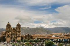 Kwadrat wojownik, Cusco Obrazy Stock