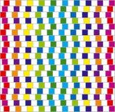 kwadrata kolorowy wektor Obrazy Royalty Free