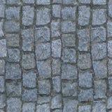 Kwadratowa bezszwowa brukowych kamieni tekstura Obraz Royalty Free