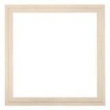 Kwadratowa drewniana textured wąska obrazek rama Fotografia Stock