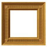 Kwadratowa neoklasyczna rama Zdjęcia Royalty Free