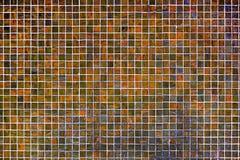 Kwadratowa tło mozaika, ceramika tekstur ceramiczne ceranic płytki zdjęcie stock