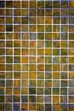 Kwadratowa tło mozaika, ceramika tekstur ceramiczne ceranic płytki fotografia stock