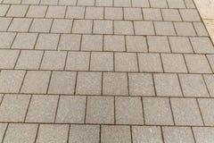 Kwadratowego szarego pościeli bazy projekta symetryczny rząd panelu tła miastowa baza miastowa fotografia stock