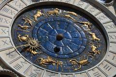 Kwadratowi San zegary Marco Wenecja Obrazy Stock