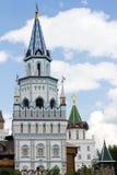 Kwadratowy basztowy Izmailovo Kremlin Obraz Stock