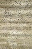 Kwadratowy cegła bloku ściany tło i tekstura Malujący w yello obrazy stock
