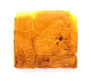 Kwadratowy chlebowy plasterek Zdjęcia Royalty Free