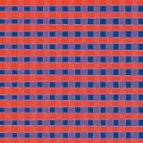 Kwadratowy dachówkowy ciągły wzór z ściennym skutkiem Obrazy Stock