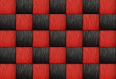 kwadratowy deseniowy sztuki drewna tło zdjęcie royalty free
