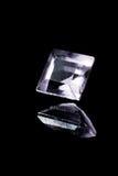 Kwadratowy diament z odbiciem Zdjęcie Royalty Free