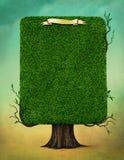 kwadratowy drzewo royalty ilustracja