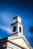 Kwadratowy kościelny wierza Obrazy Royalty Free